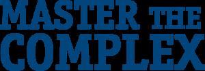 Master the complex - Blue logo